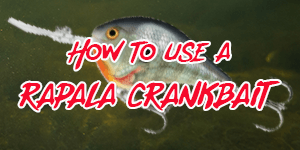 how to use a rapala crankbait